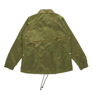 ts(s) Iridescent Taffeta Coaches Jacket Green Size 2