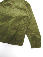 Load image into Gallery viewer, ts(s) Iridescent Taffeta Coaches Jacket Green Size 2
