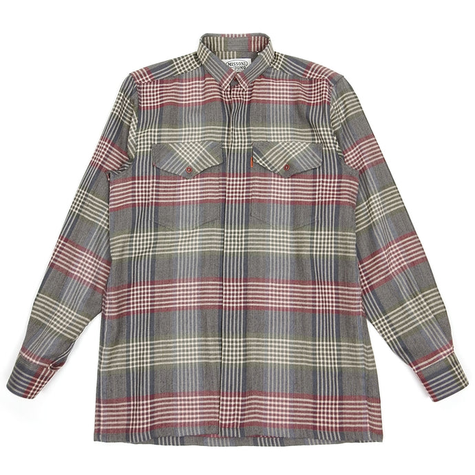 Missoni Wool Check Shirt Size Small