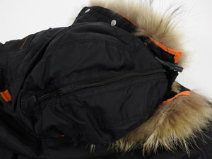Parajumpers Black Right Hand Down Parka - XL