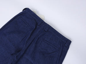 Blue Blue Japan Lightweight Indigo Paisley Print Denim Jeans - 34