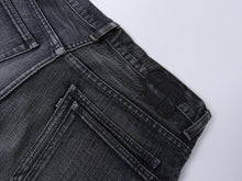 Load image into Gallery viewer, Number (N)ine Grey Wash Slim Straight Cropped Denim Jeans - 30