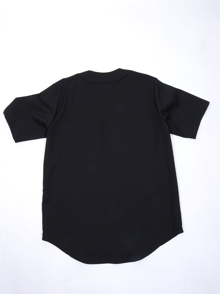 Billionaire Boys Club x Loro Piana Black Baseball Jersey Shirt - L