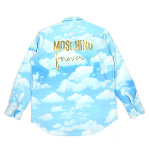Moschino Forever Clouds Shirt Fits L/XL