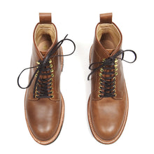Load image into Gallery viewer, Alden Brown Plain Toe Boot Size 8