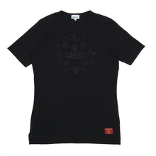 Load image into Gallery viewer, Vivienne Westwood Logo Tee Black Large