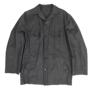 Dolce Gabbana Finished Linen Jacket Charcoal Size 50