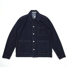 Load image into Gallery viewer, Norse Projects Tyge Denim Chore Jacket Medium