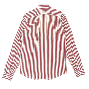 AMI Striped Shirt Red/White Size 38