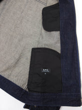 Load image into Gallery viewer, A.P.C. Zip Denim Jacket Medium