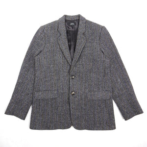 A.P.C. Harris Tweed Jacket Grey Small