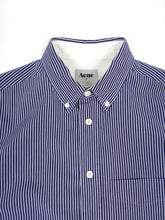 Load image into Gallery viewer, Acne Striped Button Up Blue 48