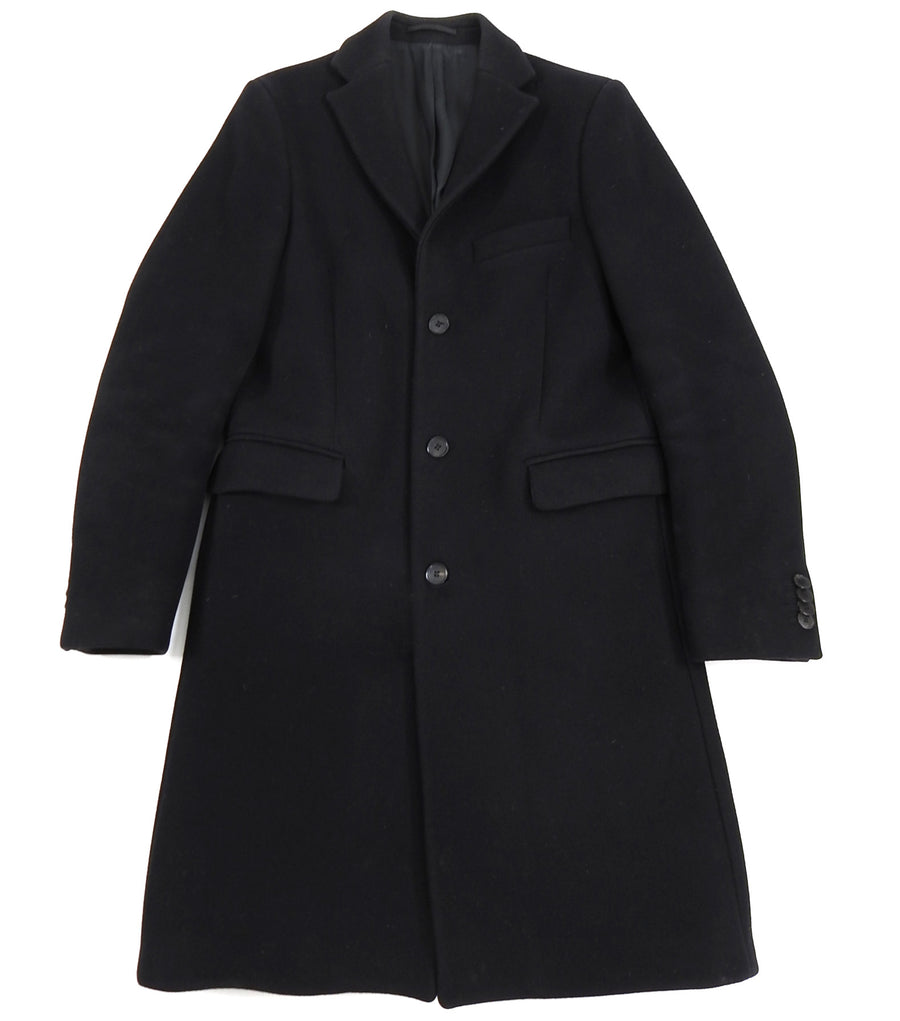 Acne Studios Black Wool Garret Coat