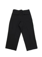 Acne Studios Black Wide Leg S/S 2015 Linen Trouser - 34