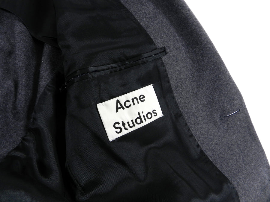 Acne Studios Two Piece Wool Grey Suit - 38