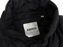 Load image into Gallery viewer, Aspesi Black Long Black Quilted Down Puffer Parka Jacket - L
