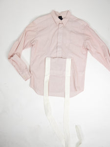 Bernhard Wilhelm SS'07 Suspender Shirt Red/White Large
