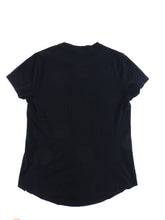 Load image into Gallery viewer, Balmain Paris Short Sleeve Black Crest Logo Tee - L