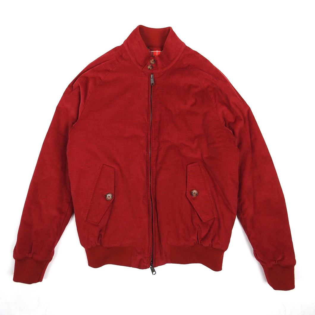 Baracuta Insulated Corduroy Jacket Red Size 42