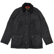 Load image into Gallery viewer, Barbour Ashby Wax Jacket Black Medium