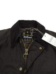 Barbour Waxed Ashby Jacket Green Medium