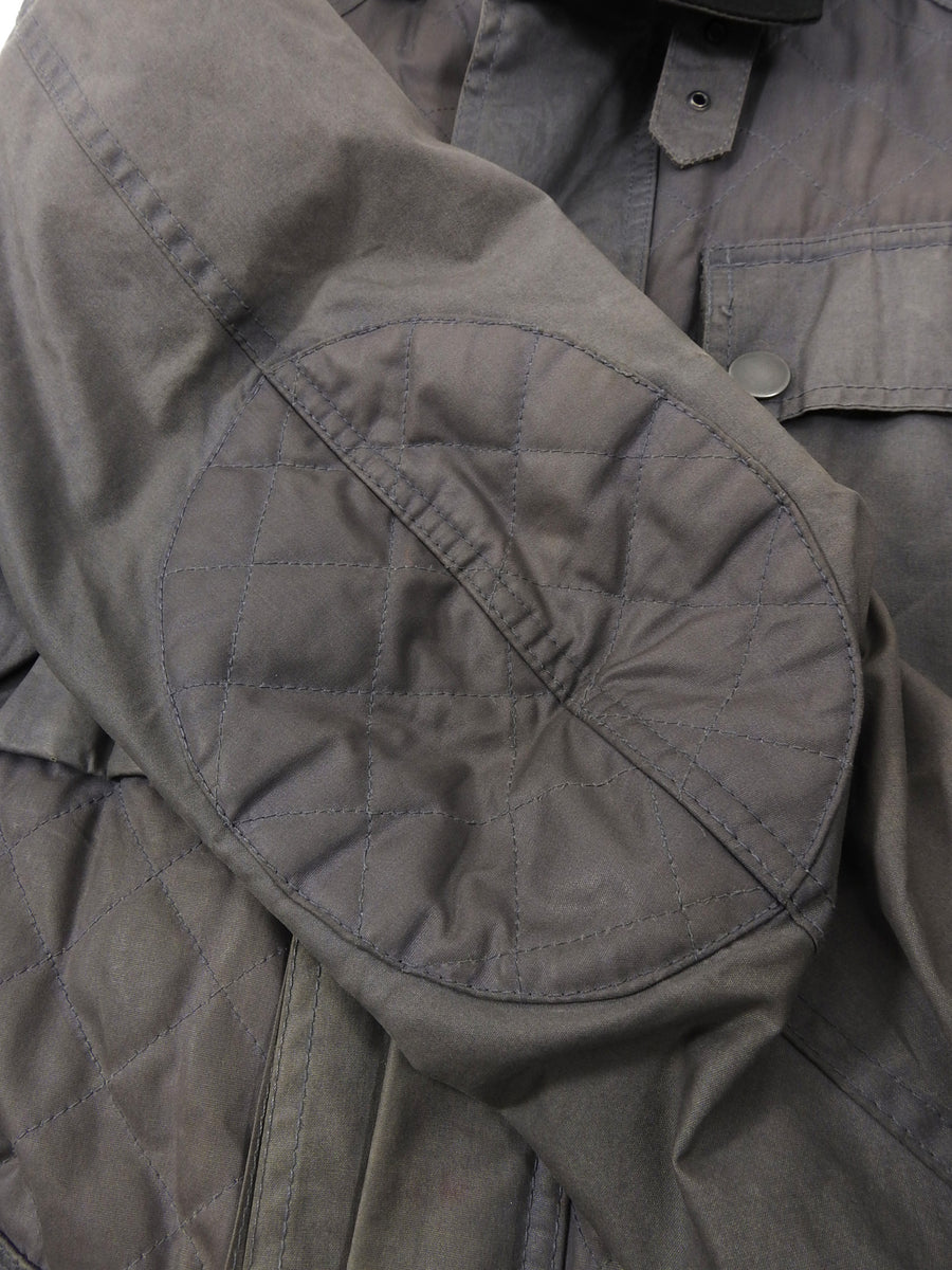 Belstaff Light Grey Workwear Quilted Coat - L