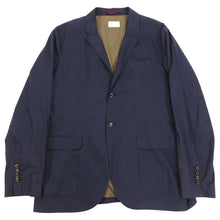 Load image into Gallery viewer, Brunello Cucinelli Navy Cotton Light Sports Jacket