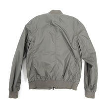 Load image into Gallery viewer, Burberry Brit Grey Light Nylon Windbreaker Bomber Jacket - L