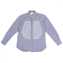 Load image into Gallery viewer, CDG Shirt Check Shirt Blue/White Small