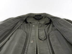 Comme des Garcons Homme Plus Army Green Military Blazer - S