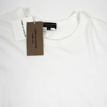 Load image into Gallery viewer, Comme Des Garcon Homme Plus 2014 Zipper Tee White Small