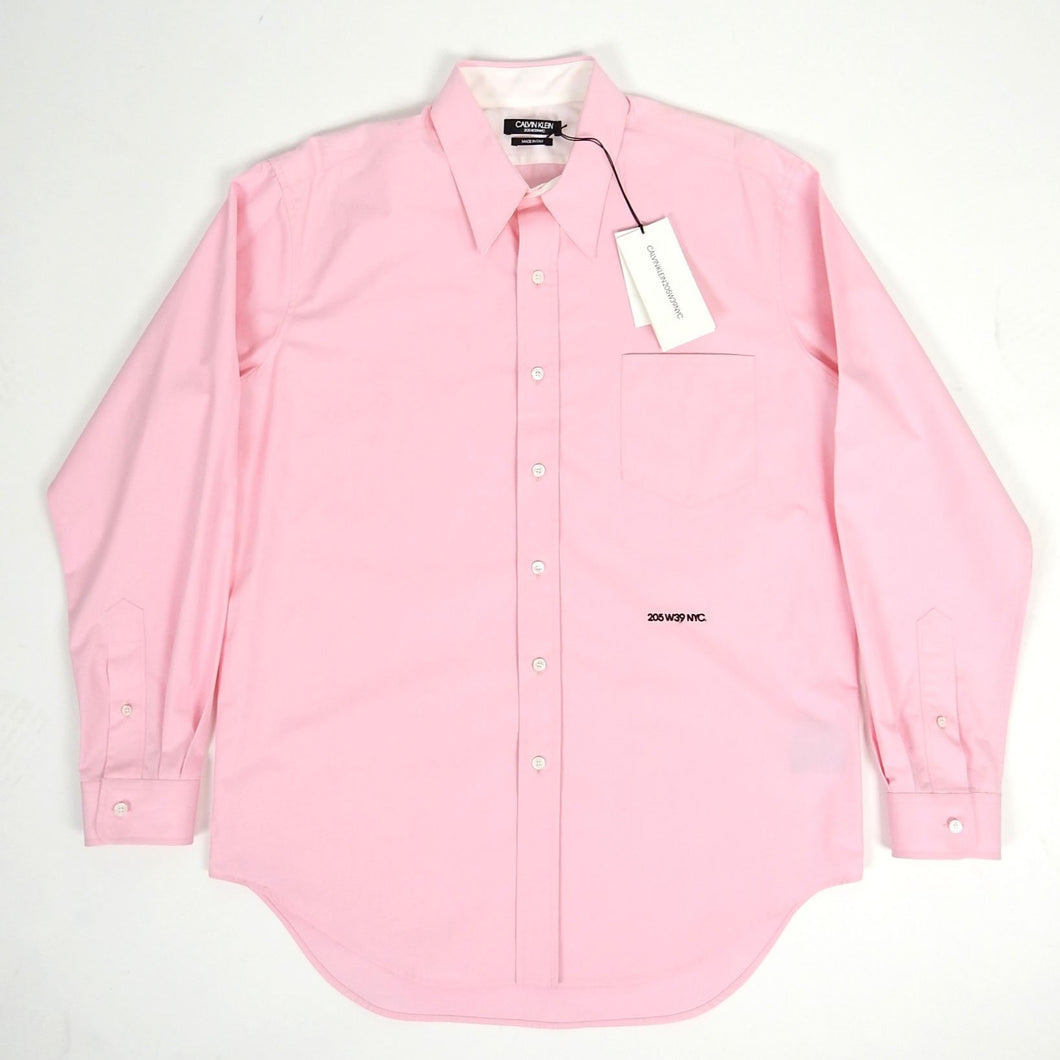 Calvin Klein 205W39NYC Button Up Pink Size 39