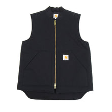 Load image into Gallery viewer, Carhartt Canvas Black Work Vest