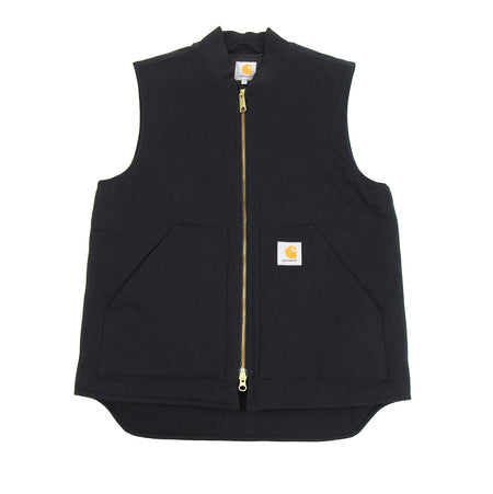 Carhartt Canvas Black Work Vest