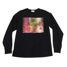 Cav Empt Black Long Sleeve Pink Graphic Tee