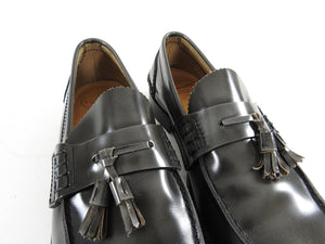 Church's Dark Grey Tassel Slip on Loafer Shoes -  10