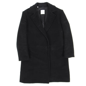 Costume National Overcoat Black 44