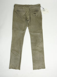 Dolce & Gabbana Leather Pants Size 52