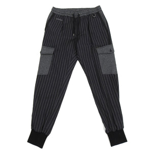 Dolce & Gabbana Black Striped Cargo Trousers - S