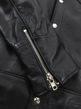 Load image into Gallery viewer, Deadwood Black Leather Coach Jacket - S