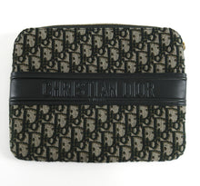 Load image into Gallery viewer, Christian Dior Homme Dark Green Trotteur Monogram Ipad Mini Case
