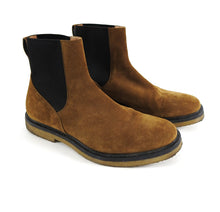 Load image into Gallery viewer, Dries Van Noten Brown Gumsole Chelsea Boots