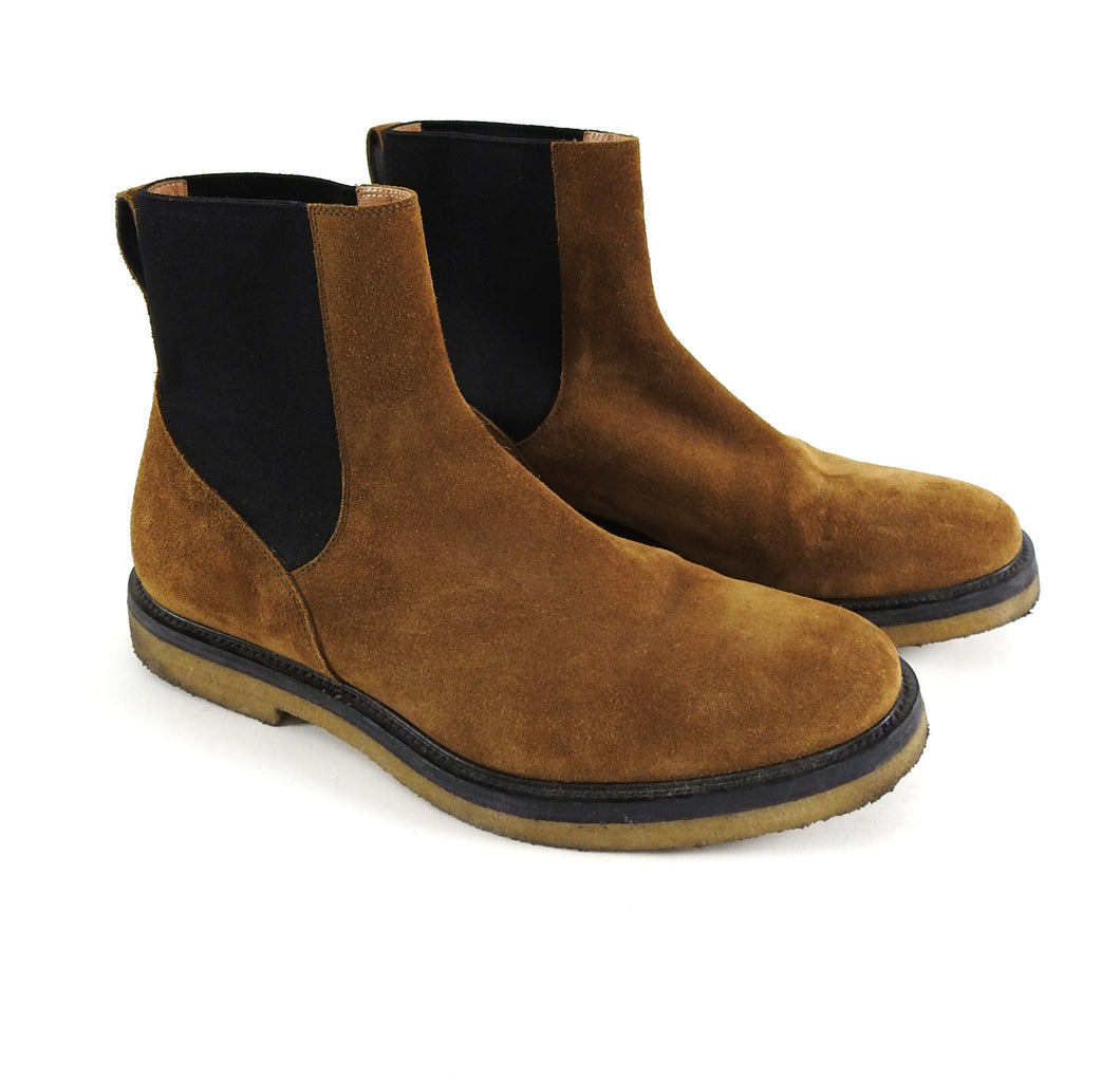 Dries Van Noten Brown Gumsole Chelsea Boots