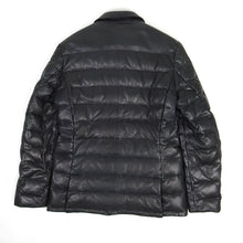 Load image into Gallery viewer, Etro Leather Padded Jacket Black Medium