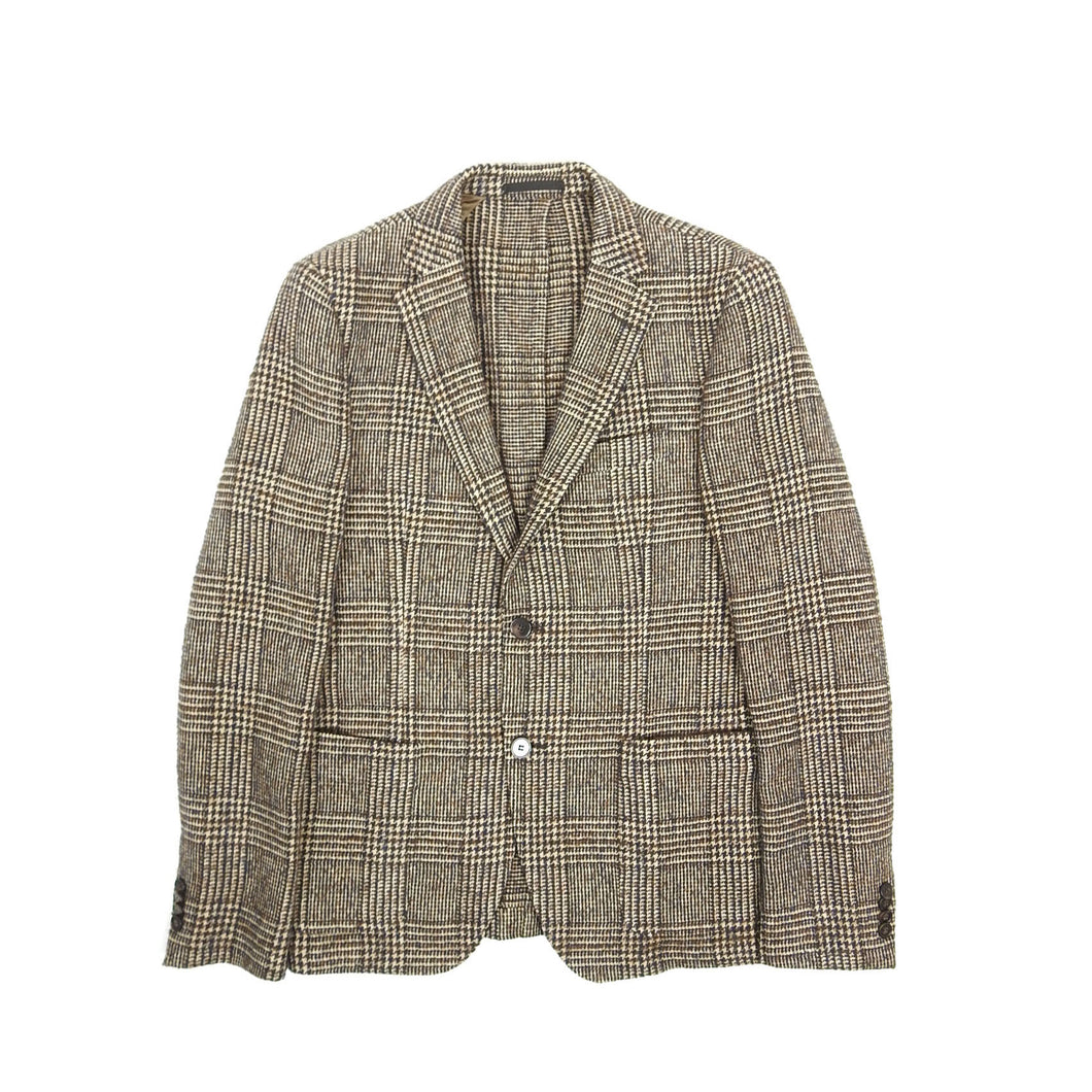 Officine Generale Wool Blazer Brown Size 48