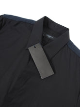 Load image into Gallery viewer, Givenchy Pique Woven Shirt Black Size 39