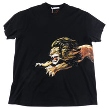 Load image into Gallery viewer, Givenchy Short Sleeve Black Lion Graphic Tee - L
