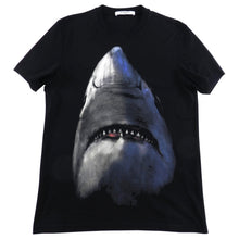 Load image into Gallery viewer, Givenchy Short Sleeve Black Shark Tee - M