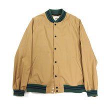 Load image into Gallery viewer, Golden Bear x Unionmade Camel Green Collar Bomber