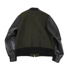 Golden Bear Green Wool Varsity Jacket - L